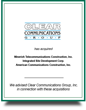 Clear Communications Group, Inc