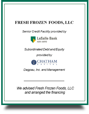 Fresh Frozen Foods, LLC